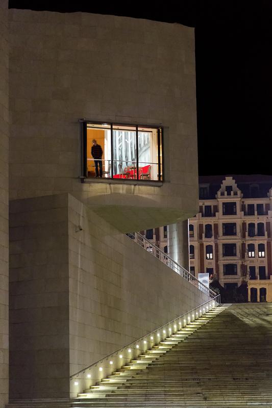 D Poupel Le gardien du Guggenheim