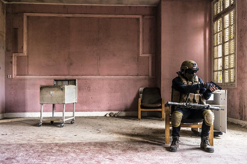 G Boutigny Le soldat rose