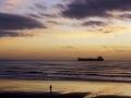 40ième A. Cossard La plage au couchant 43pts