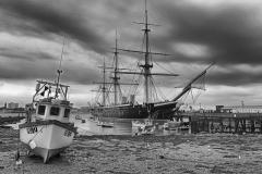 59ième D. Poupel HMS Warrior 42pts