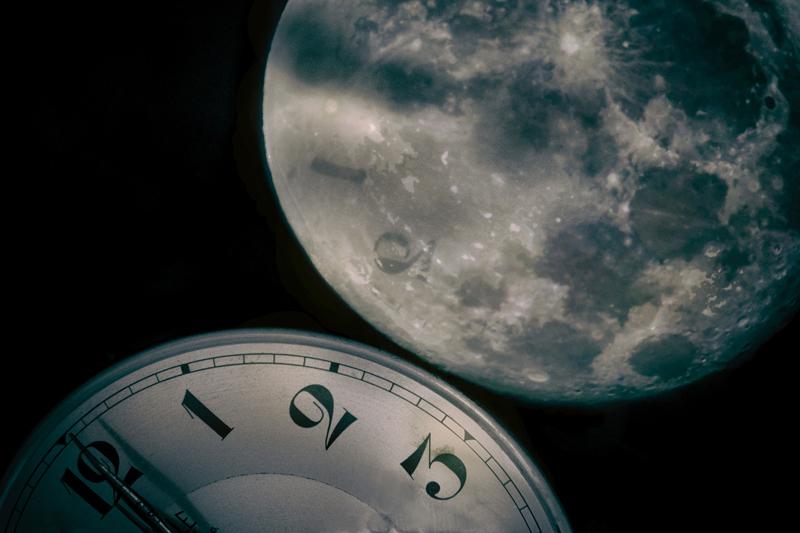 BAILLY Gérard Le temps d'une pleine lune