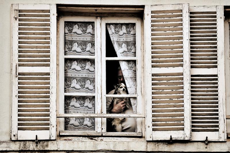 PATARD Damien Derrière la fenêtre