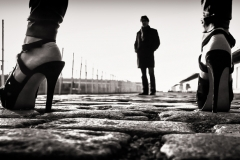 BAILLEUL Eric Rencontre sur les pavés du port !